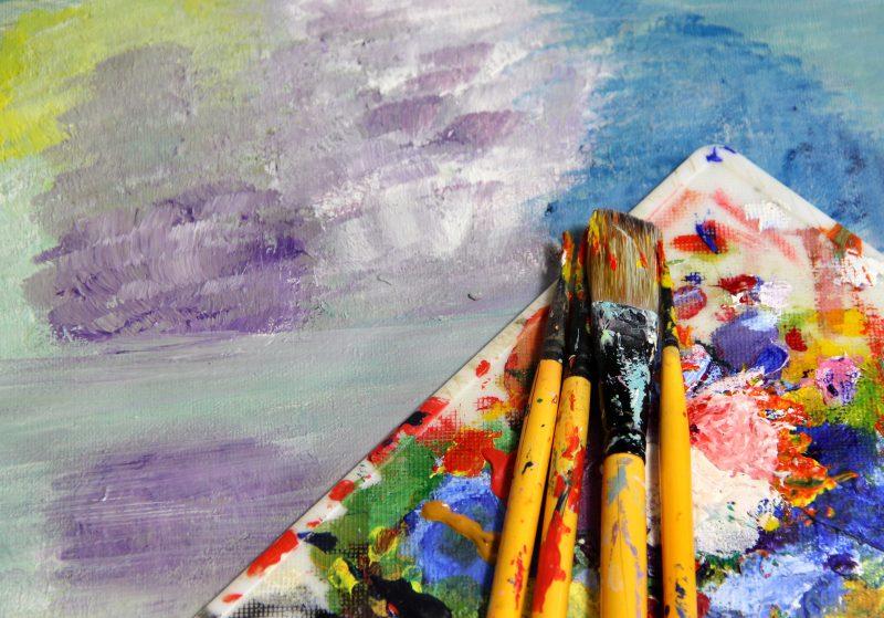 Ideer hvis du skal købe abstrakt maleri til stuen